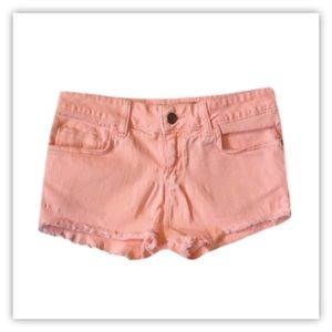 TOPSHOP Colored Jean Shorts